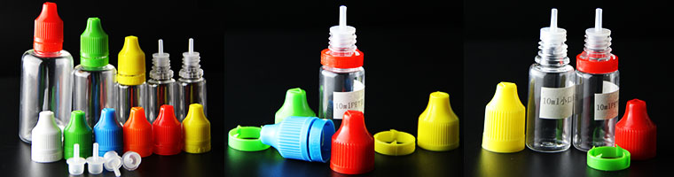 e-liquid bottles for electronic cigarettes