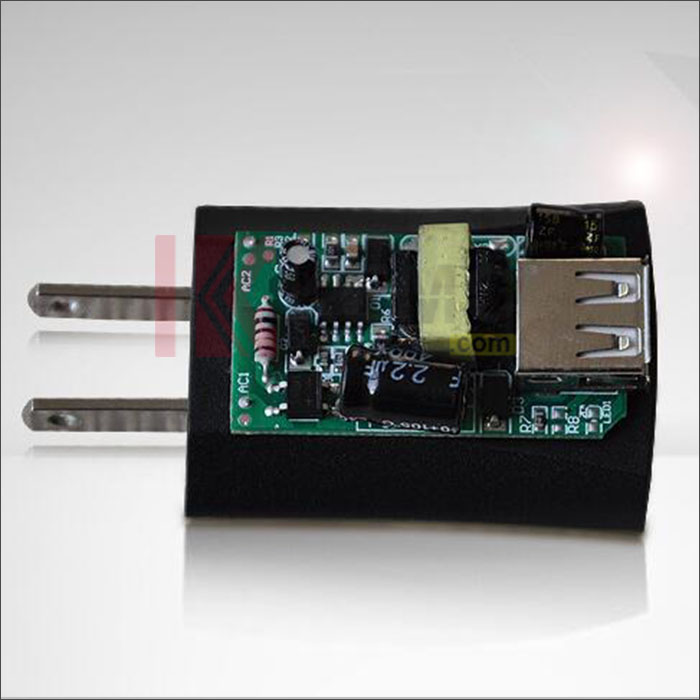 USB wall charger for electronic cigarettes