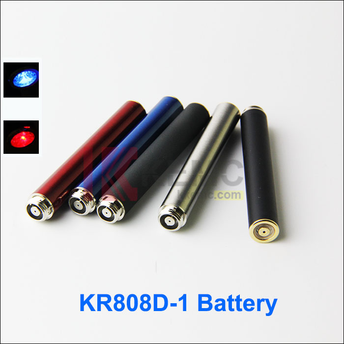 KR808D-1 Battery can be charged on the bottom