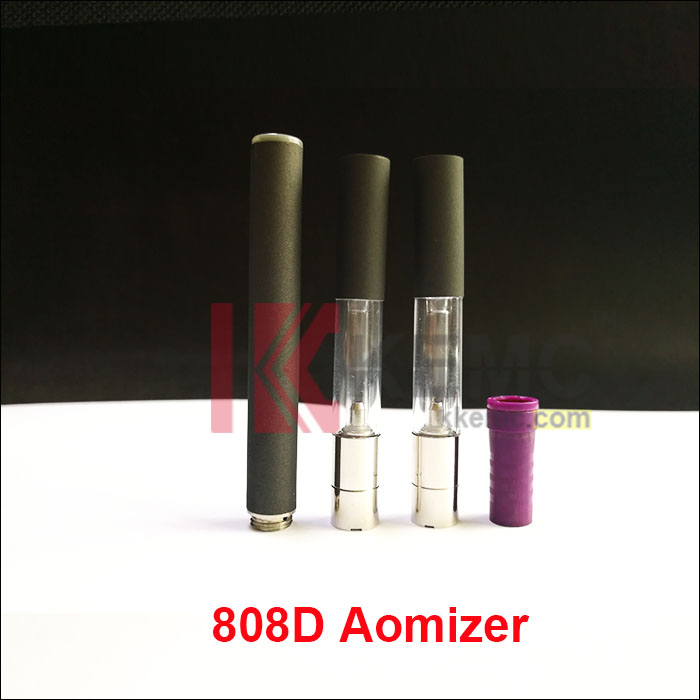 808d clear atomizer with tube for 808d-1 battery