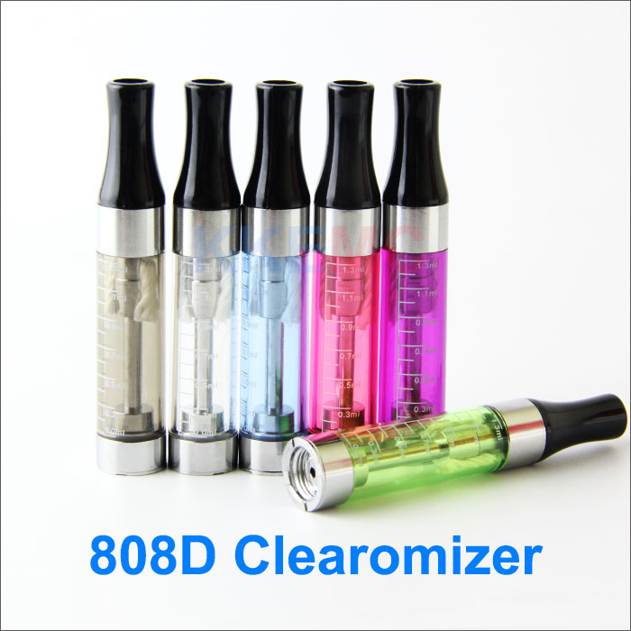 Mini 808D Clearomizer for e-Cigs Mini CE4 EGO atomizer e-smart e-Slim atomizer for 808D-X Electronic Cigarettes
