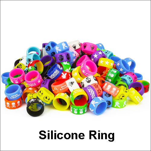 Personalized silicone bracelet, Decorative and protection silicone rubber rings silicon vape band ring for e-cigarette