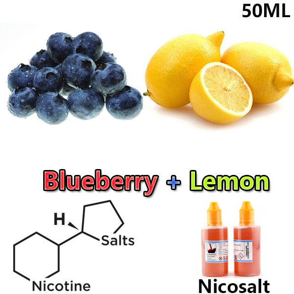 50ml Dekang Lemon Blueberry Nicotine Salt E-liquid e-juice