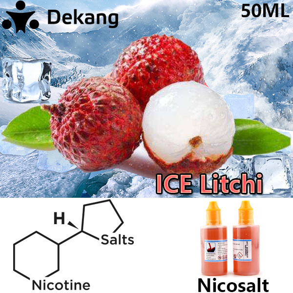 50ml Dekang ICE Litchi Nicotine Salt E-Juice