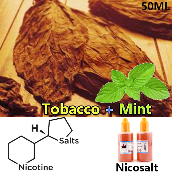 50ml Dekang Mint Tobacco Nicotine Salt E-liquid e-juice