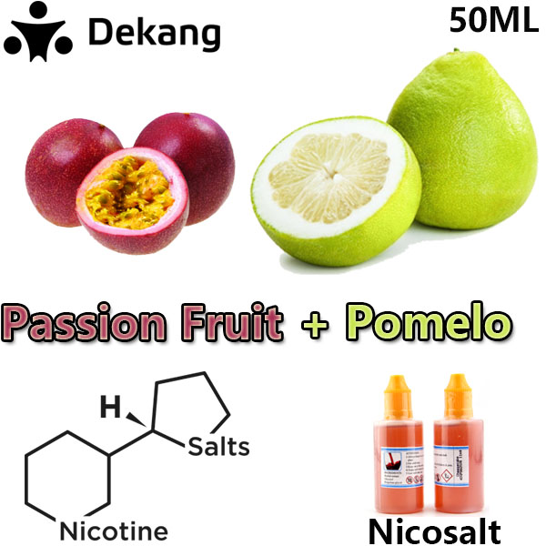 Passion Fruit Pomelo Nicosalt e-Juice 100% Dekang 50ml Passion NicoSalt E-Liquid