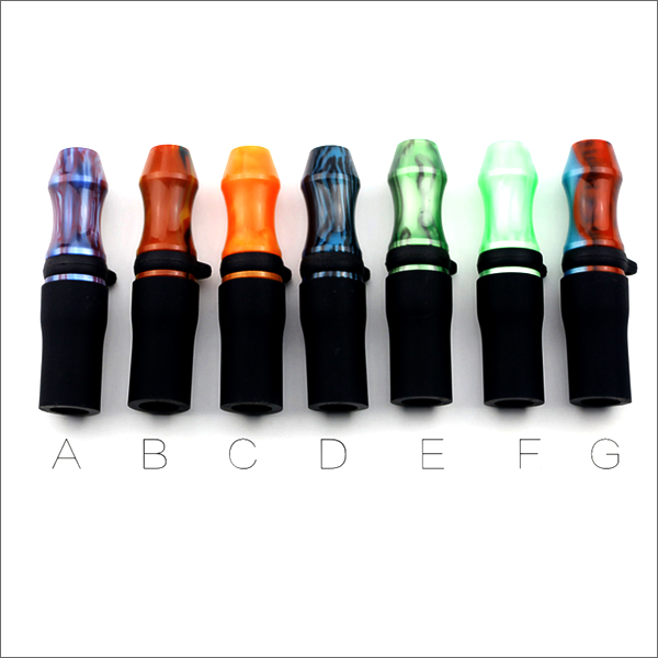 Epoxy Resin Hookah Drip Tips Type 7 colors